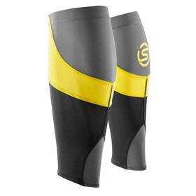 Skins Essentials Calf Tights Unisex MX Black/Citron